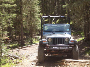 Red River Offroad Jeep tours in Red River New Mexico