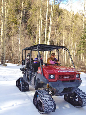 Red River Snow Cat Tours In Red River New Mexico